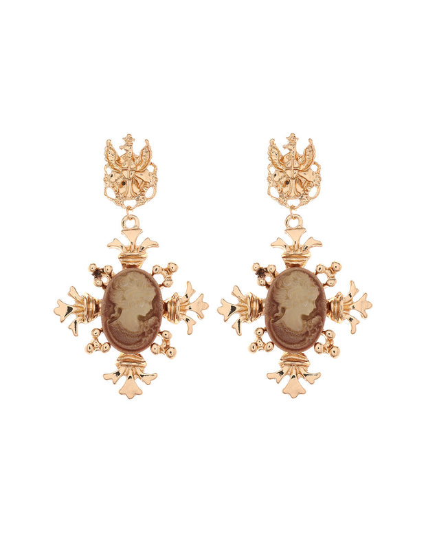Amrita Singh Resin Drop Earrings