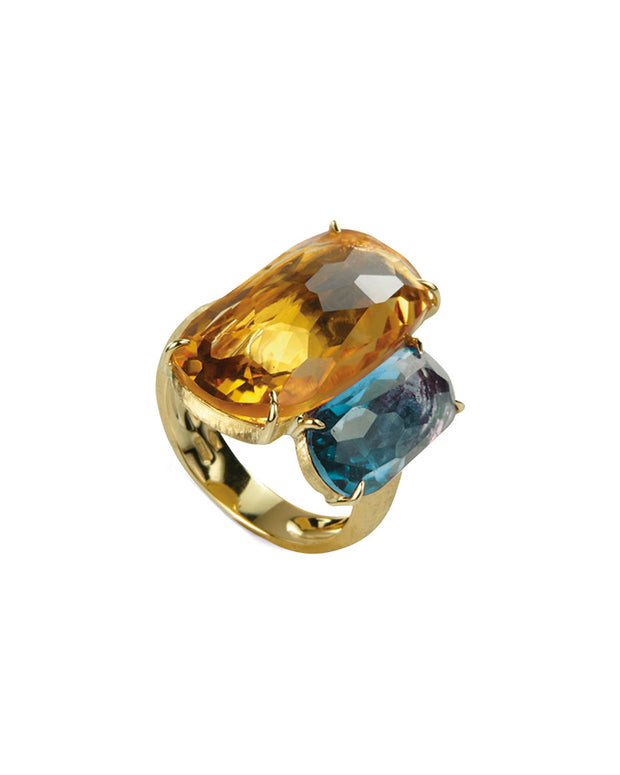 Marco Bicego Murano 18K Gemstone Cocktail Ring