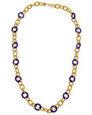 Kenneth Jay Lane 22K Gold Electroplated 36In Necklace