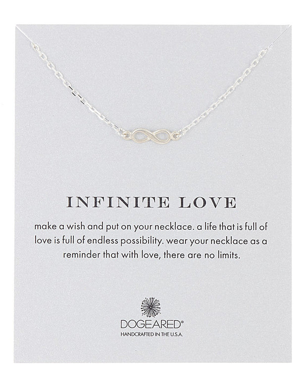 Dogeared Love Collection Silver Necklace