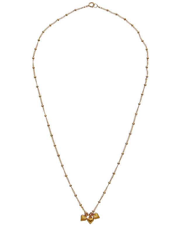 Dogeared Wish Collection 14K Over Silver Necklace