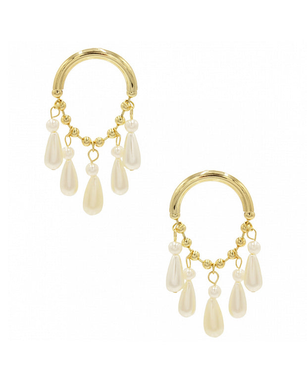 8 Other Reasons 18K Plated Statement Earrings