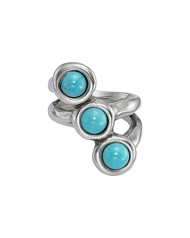Unode50 #Wildlive Silver Murano Ring
