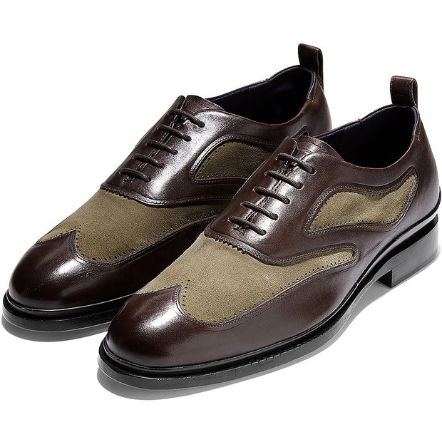 WASHINGTON GRAND 2.0 OX Mens Leather Lace-Up Oxfords