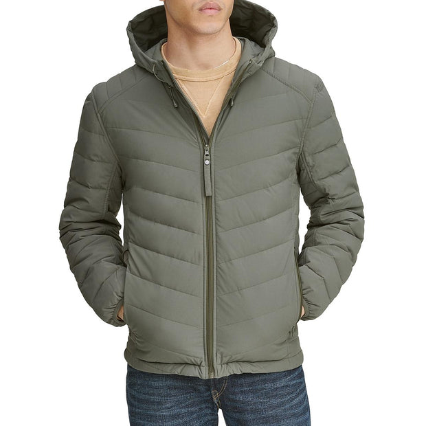 Delavan Mens Fall Down Basic Jacket