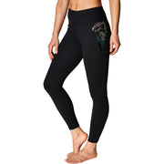 Womens Fitness Running Athletic Leggings