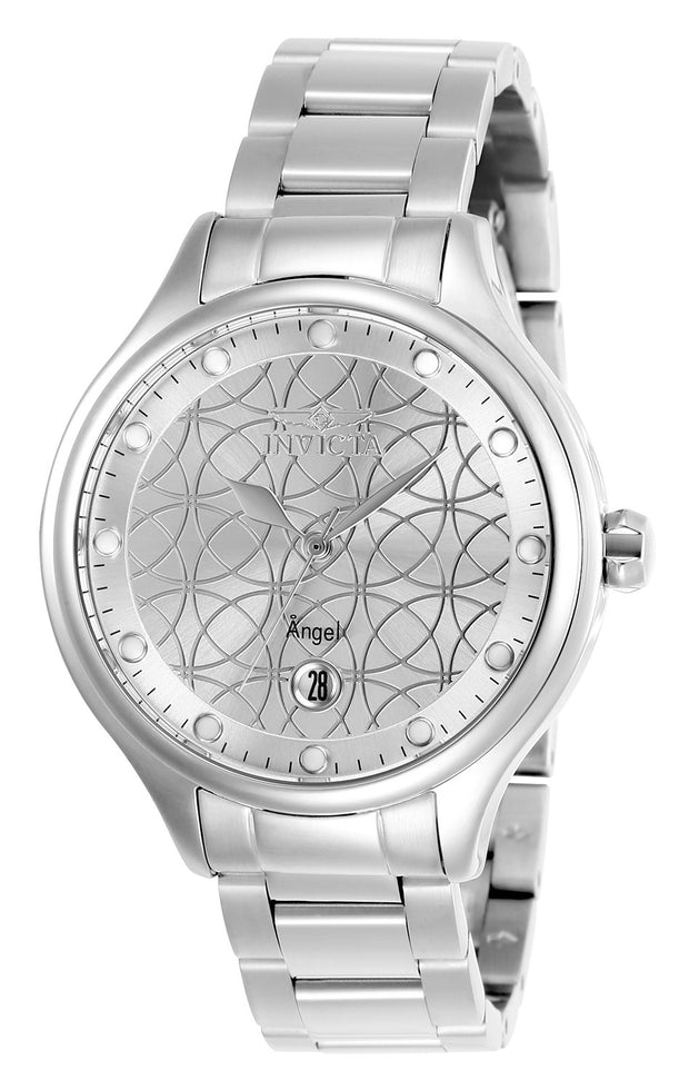 Invicta Women's Angel 27437 38mm Silver Dial Stainless Steel Watch