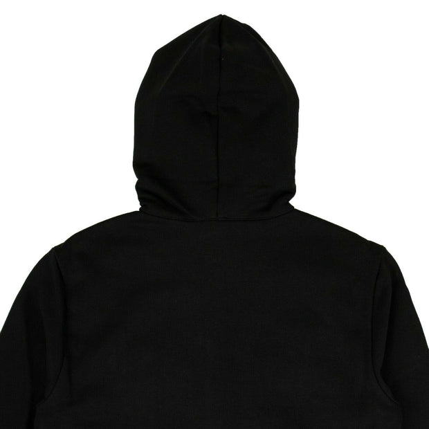 FENDI Black Bug Eyes Zip Up Hoodie Sweatshirt