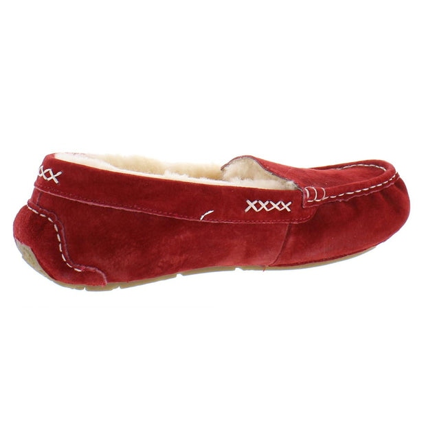 Bella Womens Suede Comfy Moccasin Slippers