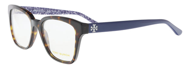 Tory Burch Dark Havana Square TY2052 1348 Eyeglasses
