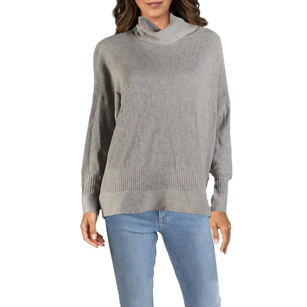 Philosophy Womens Cashmere Blend Cowl Neck Pullover Sweater