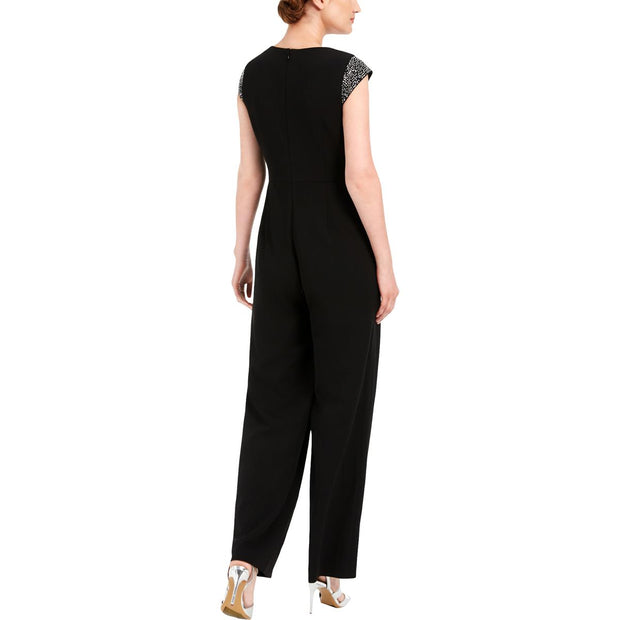 Womens Knit Embellished Jumpsuit
