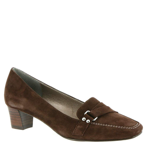 ARRAY Womens Darcy Leather Square Toe Classic Pumps