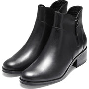 Cole Haan Womens Lyla Leather Ankle Booties