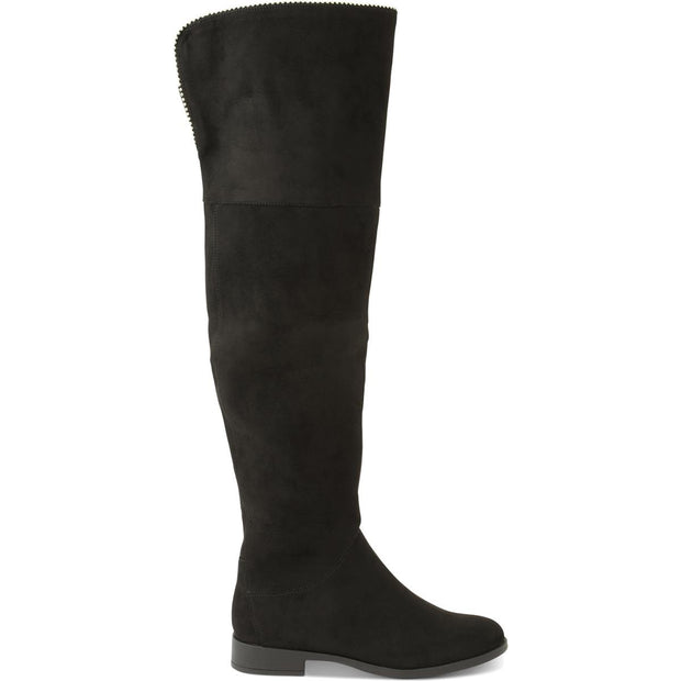 Tristen Womens Tall Studded Over-The-Knee Boots