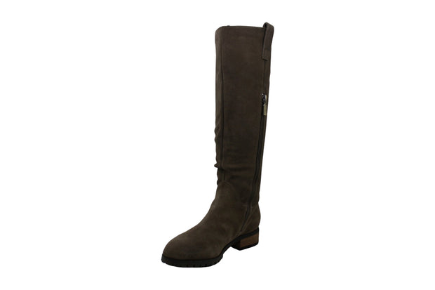 Aqua College Women's Shoes Paige Suede Closed Toe Knee High Fashion Boots