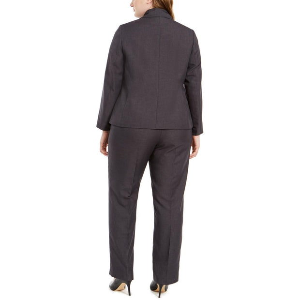 Plus Womens 2 PC Professional Pant Suit