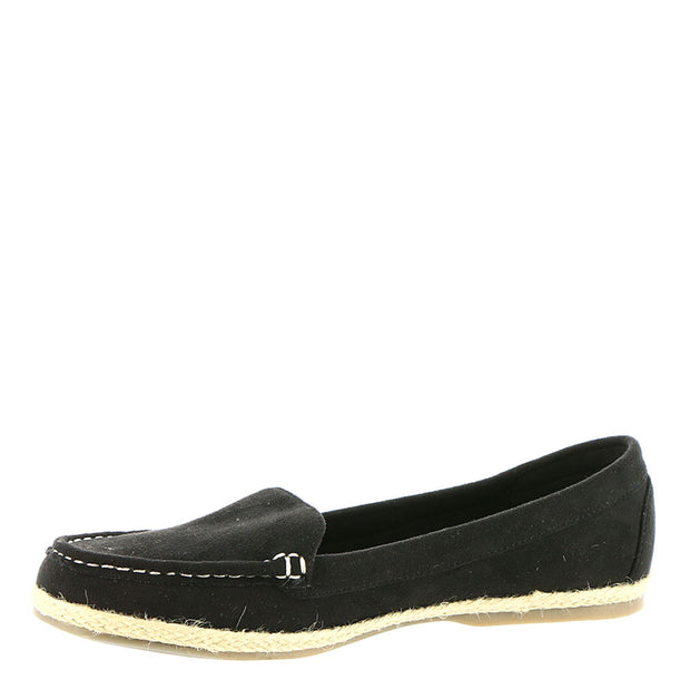 Beacon Womens Jeannie Leather Round Toe Loafers