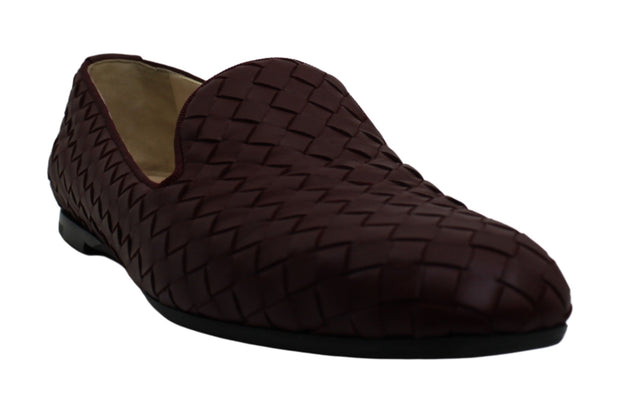 Bottega Veneta Women's Shoes Donna 474844 Leather Closed Toe Loafers