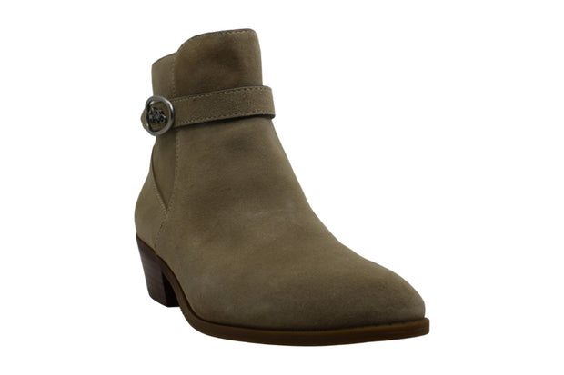 Coach Womens Dylan HC BTE SDE Suede Closed Toe Ankle Fashion Boots