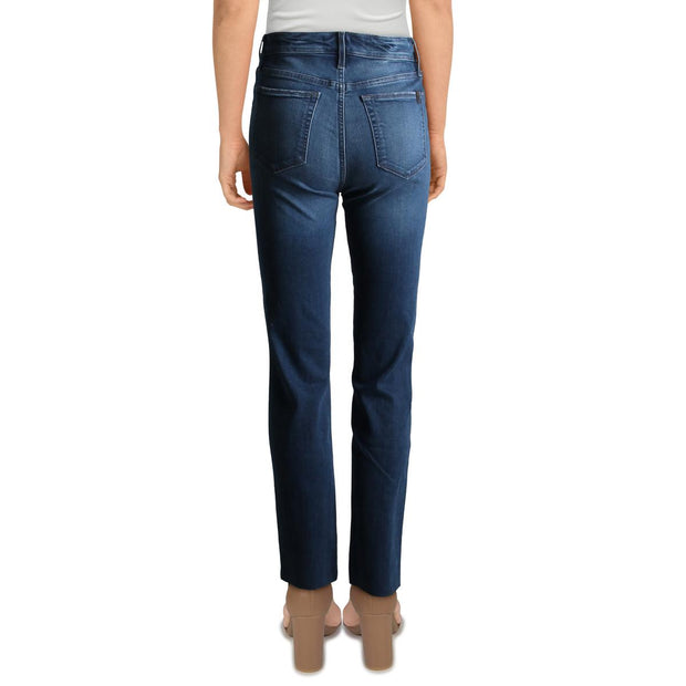 Womens High Rise Flawless Straight Leg Jeans