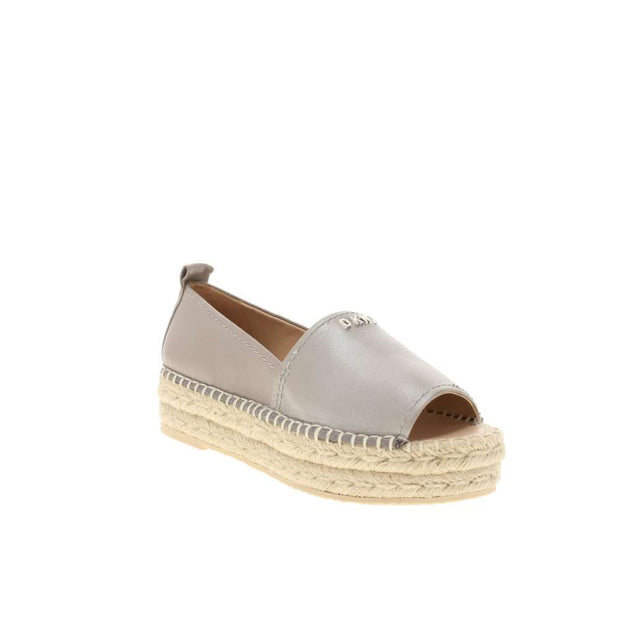 DKNY Womens Mer Leather Open Toe Casual Espadrille Sandals