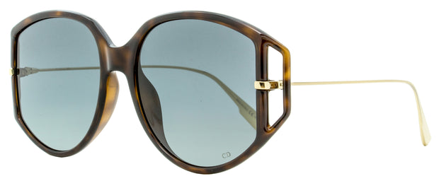 Dior Butterfly Sunglasses Direction 2 0861I Dark Havana/Gold 54mm