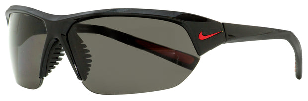 Nike Wrap Sunglasses Skylon Ace P EV0527 006 Black Polarized 69mm