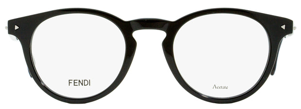 Fendi Oval Eyeglasses FF0219 807 Black/Aqua 47mm 219