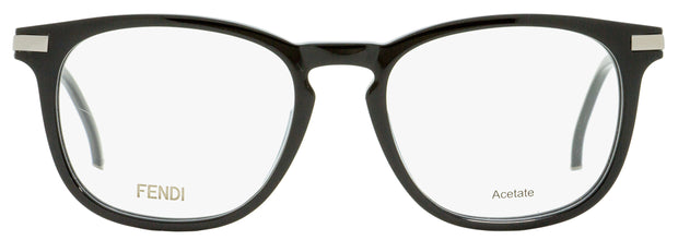 Fendi Rectangular Eyeglasses FF0226 807 Black/Ruthenium 53mm 226