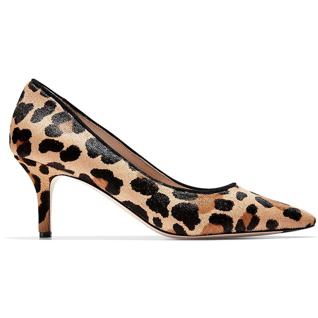 Vesta Womens Casua Calf Hair Pumps