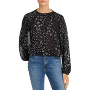 Womens Floral Lightweight Top