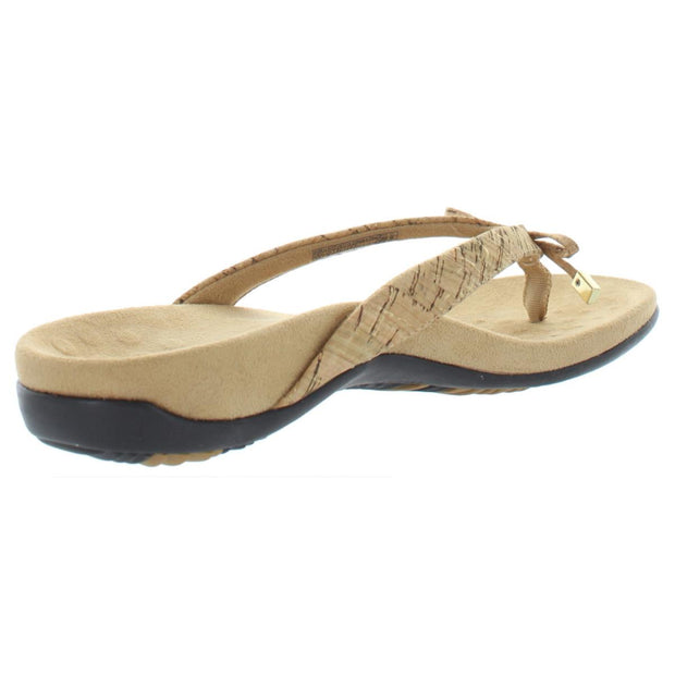 Bella II Womens Patent Orthaheel Slide Sandals