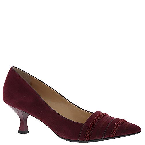 J. Renee Septima Women's Pump 7 B(M) US Burgundy