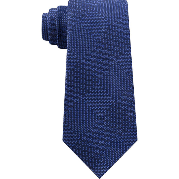 Mens Silk Blend Business Neck Tie