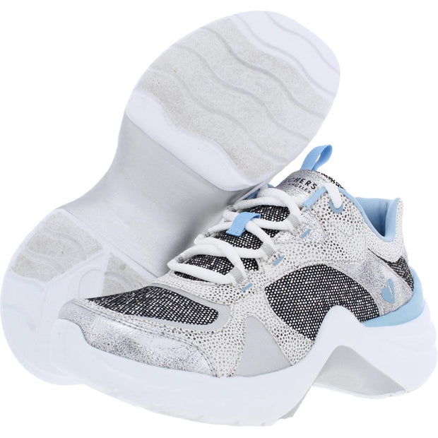 Diamond Sky Womens Memory Foam Lightweight Fashion Sneakers
