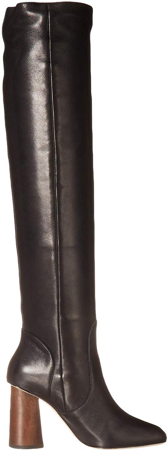 Joie Womens Collister Leather Closed Toe Over Knee Fashion Boots
