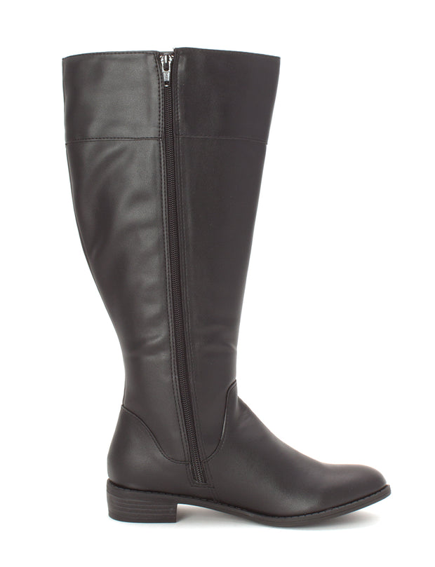 Karen Scott Womens Deliee Round Toe Knee High Riding Boots