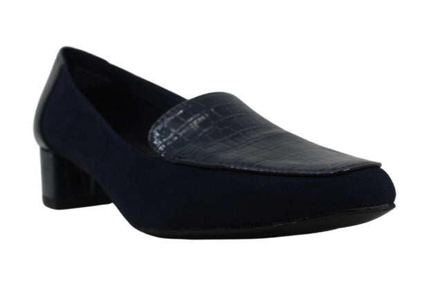 Karen Scott Womens Flura Fabric Closed Toe Loafers