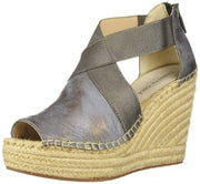 Kenneth Cole New York Women's Olivia Stretch Espadrille Wedge Sandal