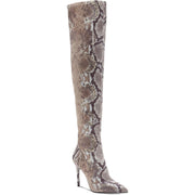 Jessica Simpson Womens Livelle Tall Stiletto Thigh-High Boots