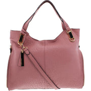 Eliza Womens Pebbled Leather Tote Handbag