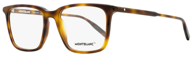 Montblanc Rectangular Eyeglasses MB0011O 006 Havana 54mm 0011