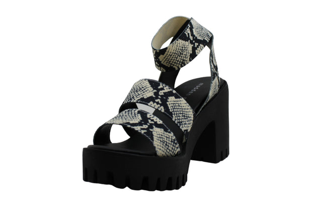 Madden Girl Women's Shoes Sohoo Fabric Open Toe Casual Strappy Sandals