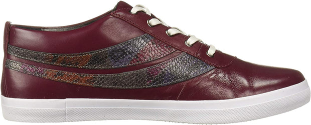 Marc Joseph New York Women's Shoes Bowery sneaker Leather Low Top Lace Up Fas...