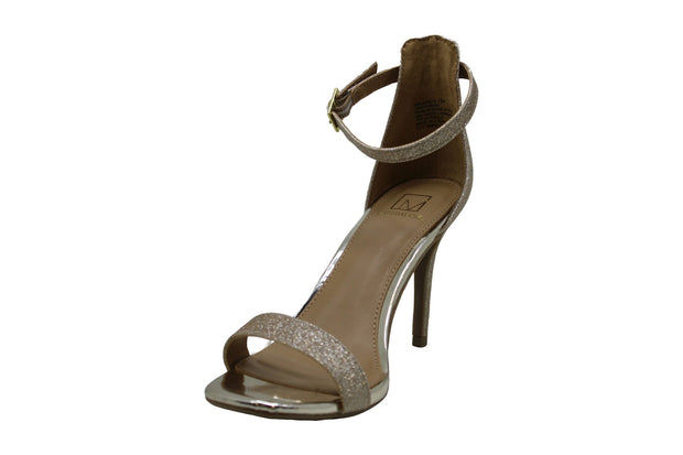 Material Girl Womens Blaire12 Peep Toe Casual Ankle Strap Sandals