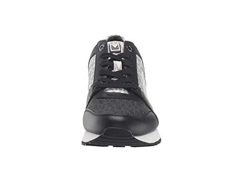 Michael Michael Kors Billie Trainer Black/Optic White 8.5