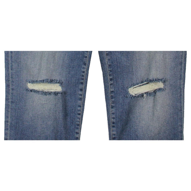 Mavi Jeans Womens Ada 80's Vintage Denim Distressed Boyfriend Jeans