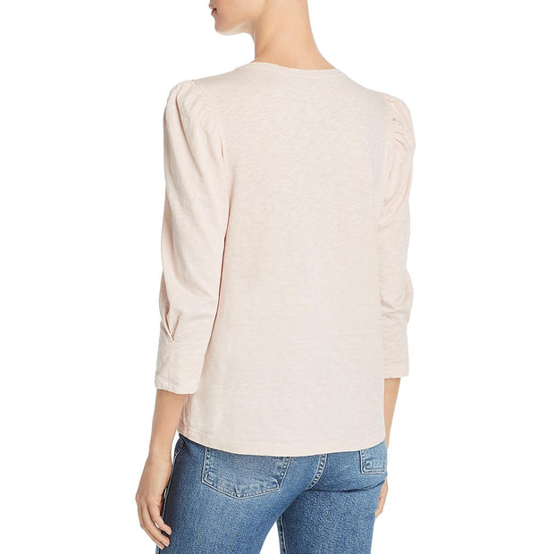 Velvet Womens Angelina Cotton Puff Sleeve T-Shirt