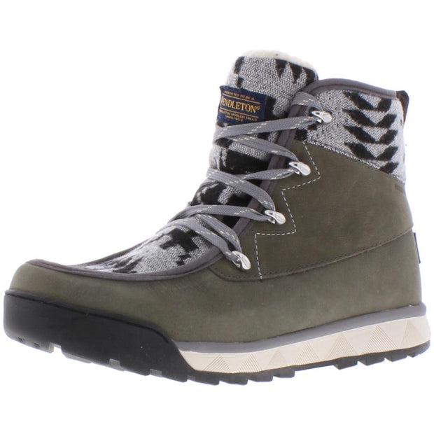 Torngat Trail Womens Suede Lace-Up Hiking Boots